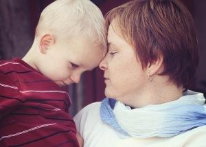 Caemon and Mama