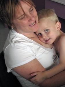 Mama and Caemon